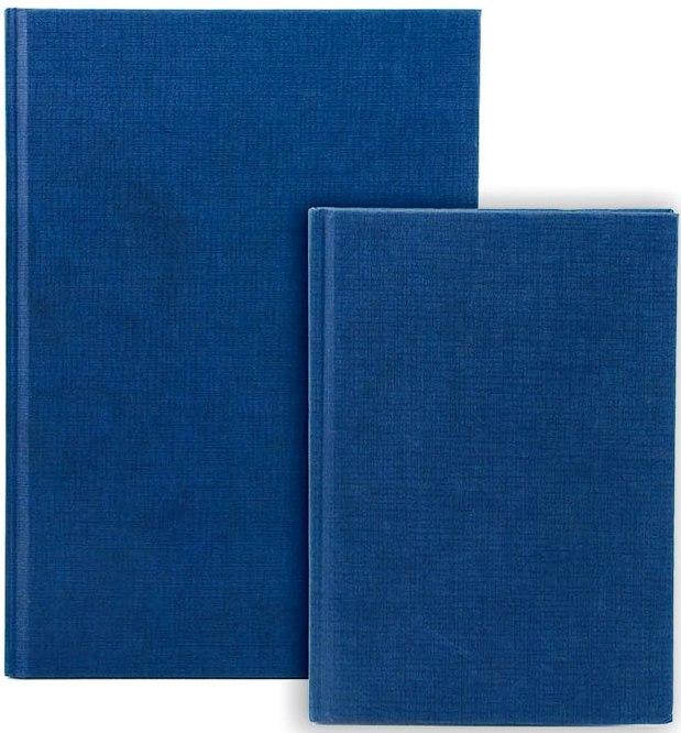 Registru A4, 96 file 70g/mp, coperti carton rigid, Business Blue