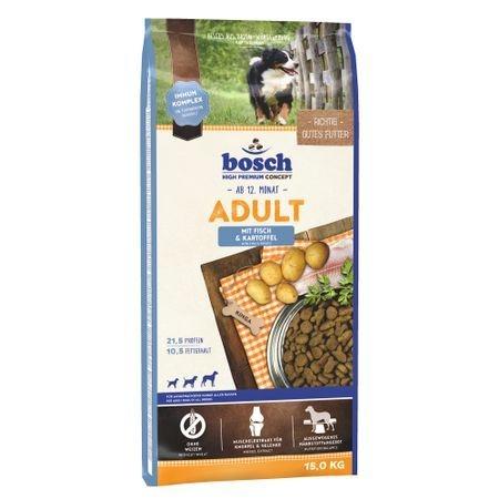 Bosch Adult Peste si Cartofi, 15 kg