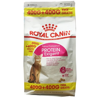 Royal Canin Exigent Protein, 400 + 400 g
