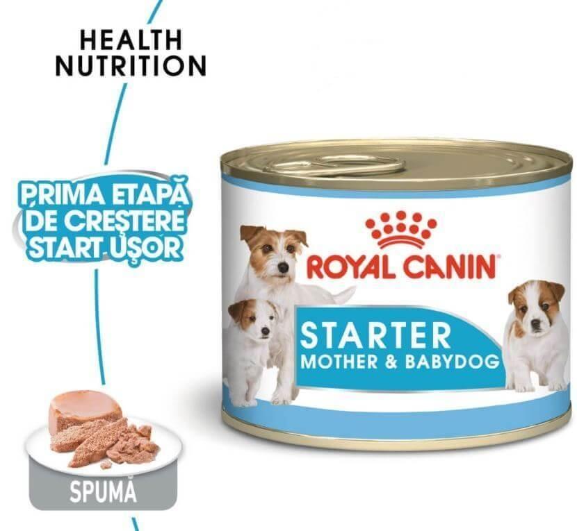Royal Canin Mini Starter Mousse, 195 g