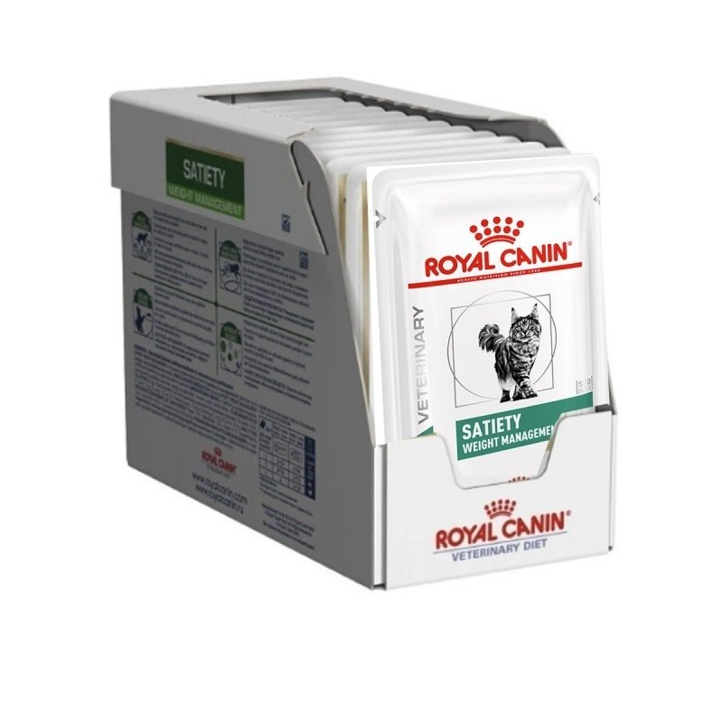 Pachet Royal Canin Satiety Weight Management, 12x 85 g