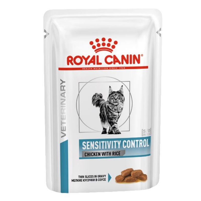 Royal Canin Sensitivity Control Cat cu Pui si Orez, 85 g