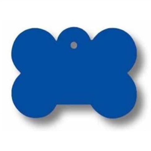 Medalion Tag cu Gravare Gratuita, Os Albastru S