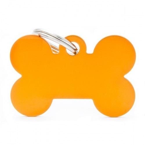 Medalion Tag cu Gravare Gratuita, Os Orange S