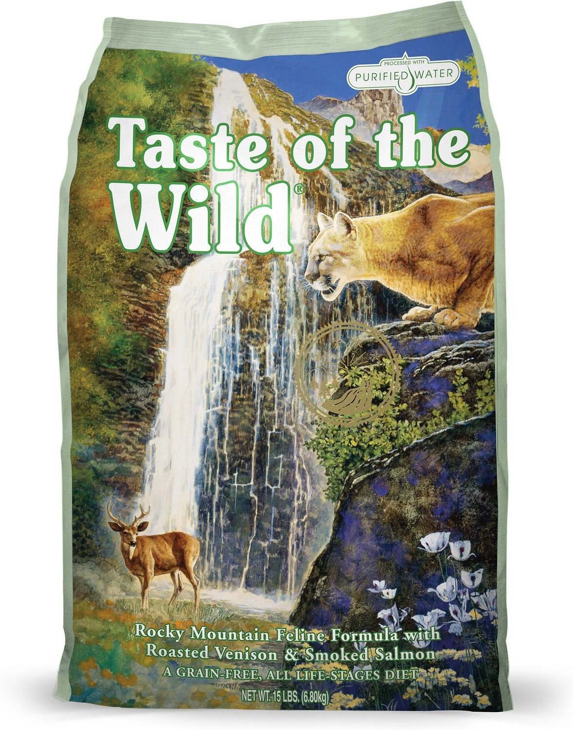Taste of the Wild Cat Rocky Mountains Formula, 2 kg