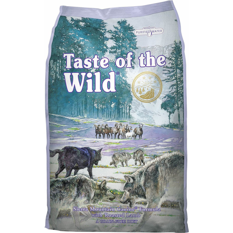 Taste of the Wild Sierra Mountain Canine Formula, 12.2 kg