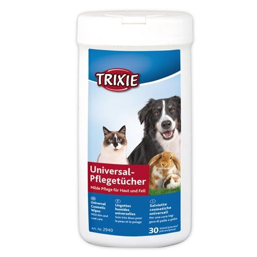 Servetele Umede Trixie, Antiinflamatoare cu Aloe Vera, 30 bucati