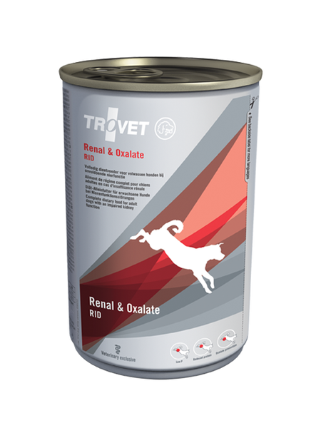 Trovet Renal & Oxalate Caine Conserva 400 g