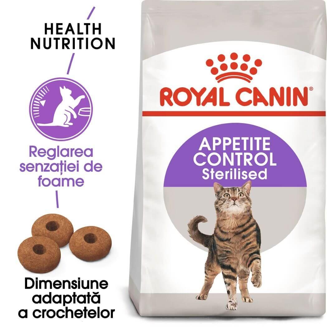 Royal Canin Sterilised Appetite Control, 4 kg