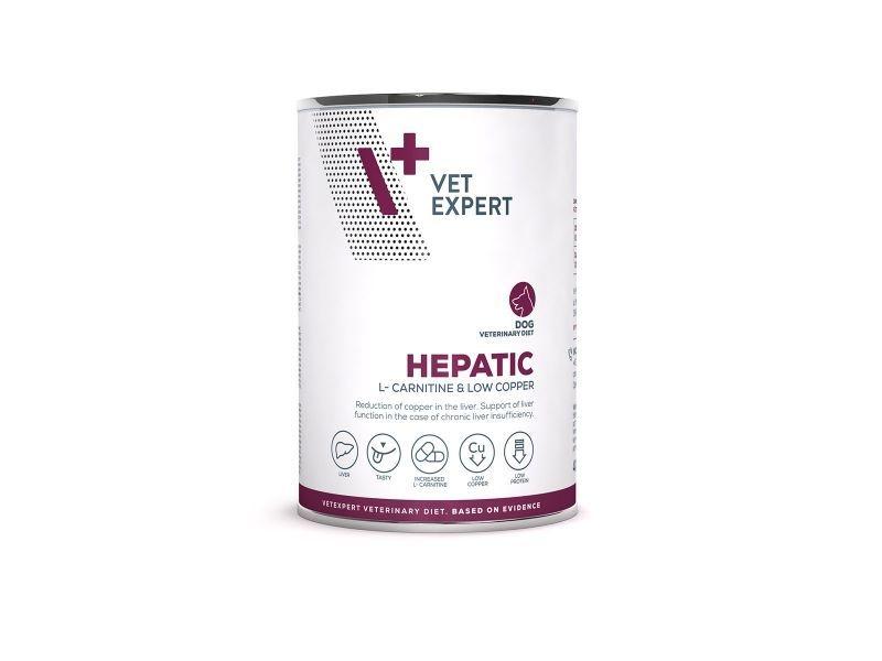 4T Veterinary Diet Hepatic Dog Pui, 400 g