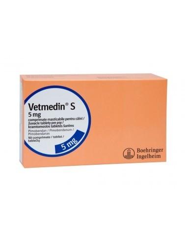 Vetmedin S 5 mg, 50 comprimate masticabile